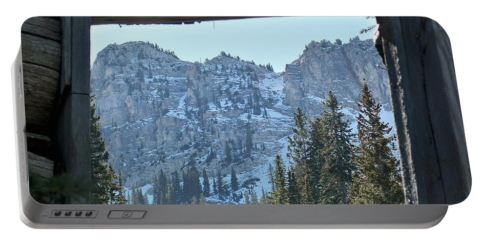 Mountain Portable Battery Charger featuring the photograph Miners Lost View by Michael Cuozzo