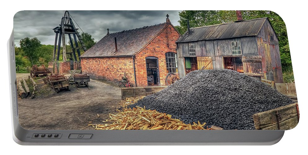 Mine Portable Battery Charger featuring the photograph Mining Village by Adrian Evans