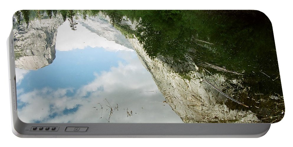 Mirror Lake Portable Battery Charger featuring the photograph Mirrored by Kathy McClure