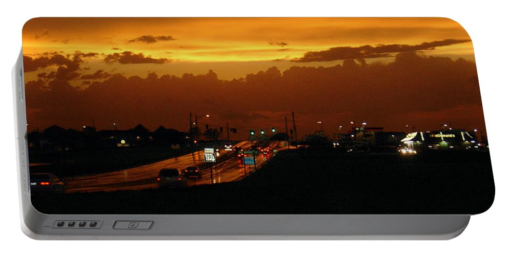Landscape Portable Battery Charger featuring the photograph Missouri 291 by Steve Karol