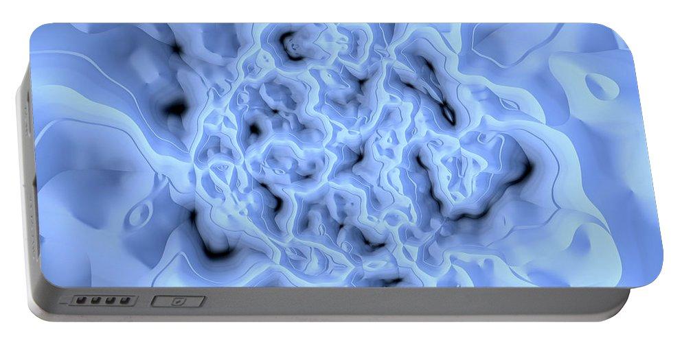 Art Digital Art Portable Battery Charger featuring the digital art Mistikal by Alex Porter