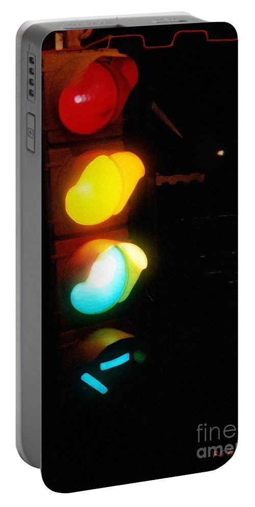 Contemporary Portable Battery Charger featuring the photograph Mixed Signals by RC DeWinter