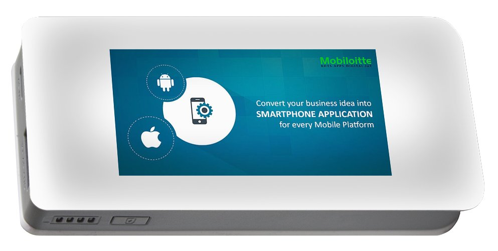 Mobile Portable Battery Charger featuring the photograph Mobile-app-development-mobiloitte by Mobiloitte