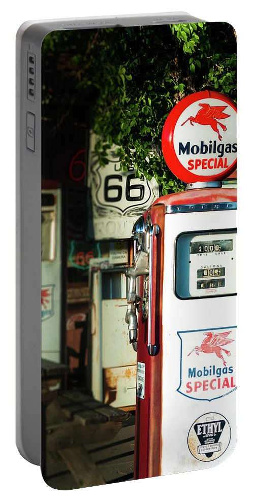 Mobilgas Portable Battery Charger featuring the photograph Mobilgas Special by Michelle Rollins
