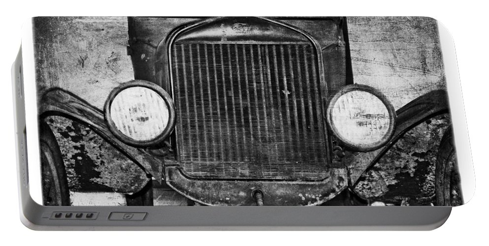 1924 Portable Battery Charger featuring the photograph Model T 1924 by Emily Kay