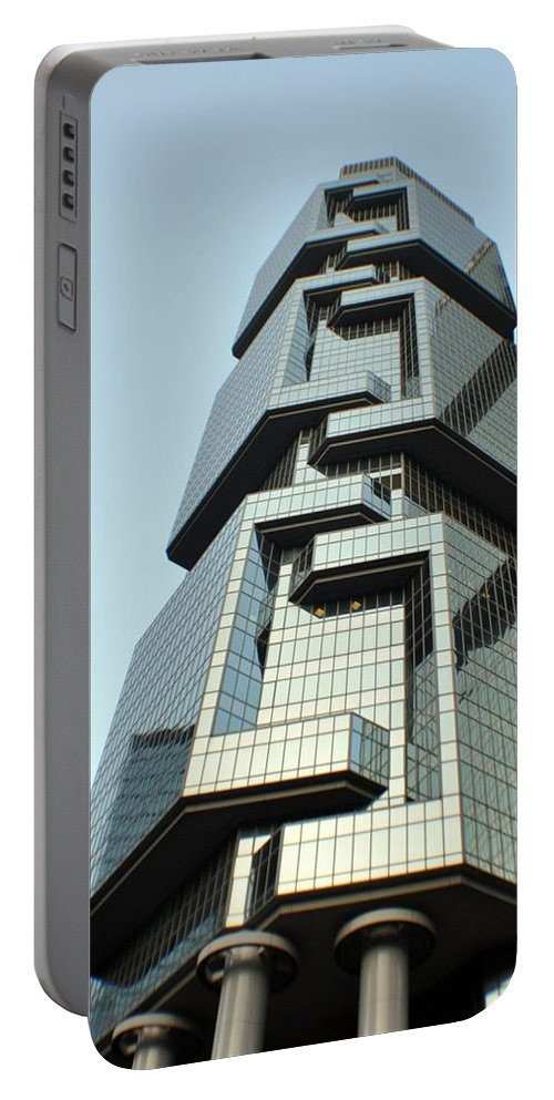 Hong Kong Portable Battery Charger featuring the photograph Modern Hong Kong by John Hughes