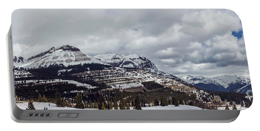 Mountains Portable Battery Charger featuring the photograph Molas Pass Summit by Joan McCool