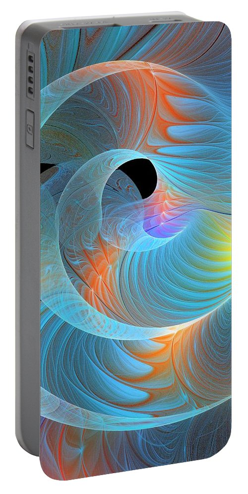 Digital Art Portable Battery Charger featuring the digital art Moment Of Elation by Amanda Moore