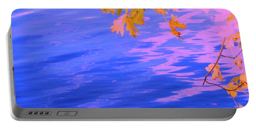 Water Portable Battery Charger featuring the photograph Moment Of Quiet by Sybil Staples