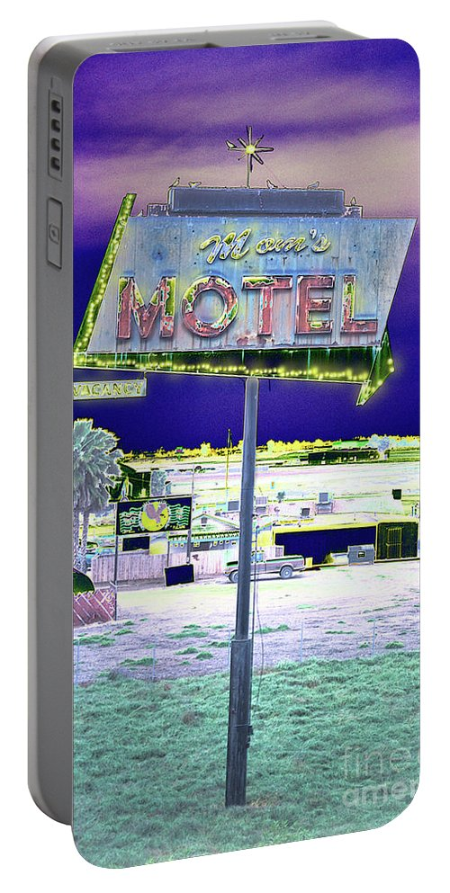 Mom Portable Battery Charger featuring the photograph Mom's Motel by Jim And Emily Bush