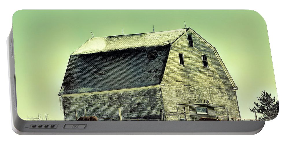 Monster Barn Portable Battery Charger featuring the photograph Monster Barn by William Tasker