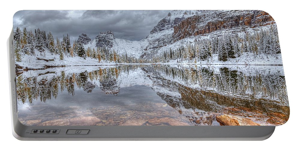 Moor Lake Portable Battery Charger featuring the photograph Moor Lake by James Anderson