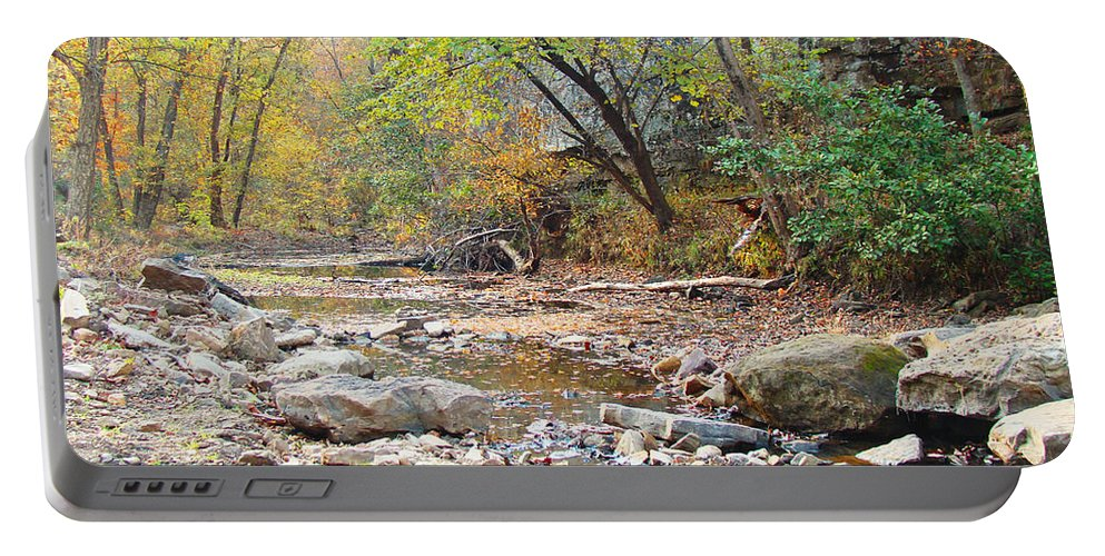 Moore\'s Creek Portable Battery Charger featuring the photograph Moore's Creek by Terry Anderson
