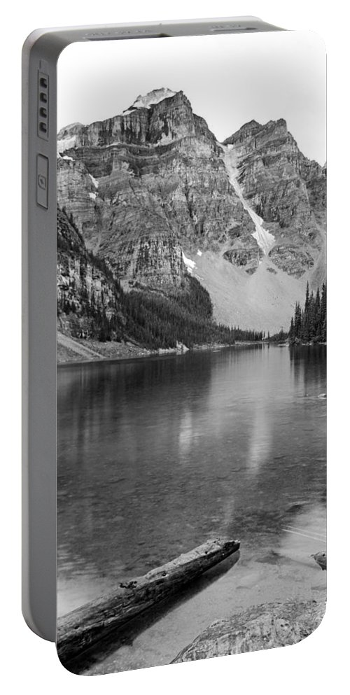 Moraine Lake Portable Battery Charger featuring the photograph Moraine Lake II by Angie Schutt