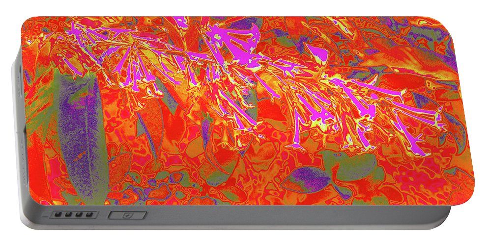 Botany Portable Battery Charger featuring the photograph More Night Bloomers 8 by Gary Bartoloni
