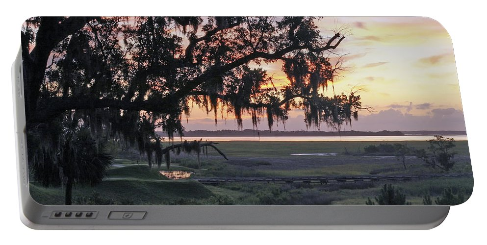 Sunrise Portable Battery Charger featuring the photograph Morning Glory by Phill Doherty