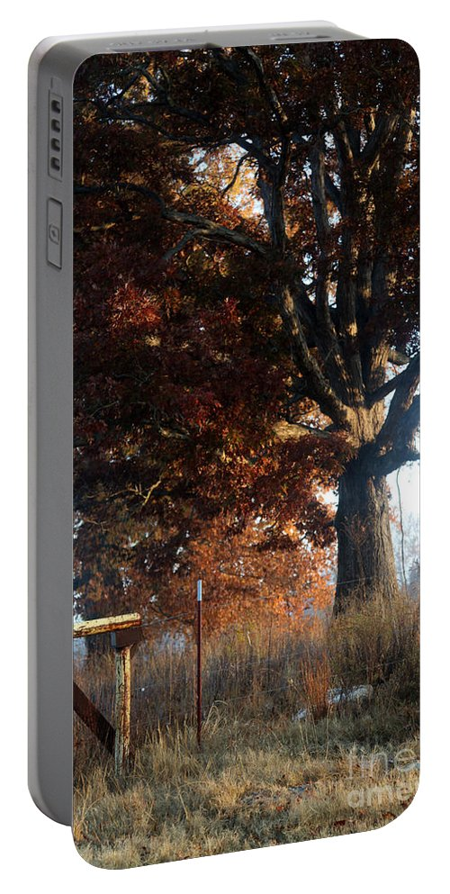 morning In Tennessee Portable Battery Charger featuring the photograph Morning In Tennessee by Amanda Barcon