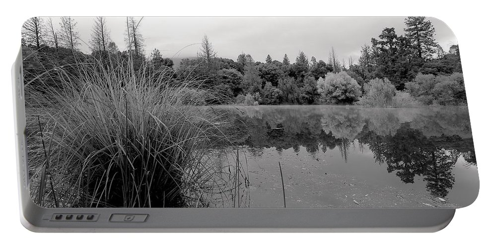 T50yp Portable Battery Charger featuring the photograph Morning Reflections by Nicholas Miller