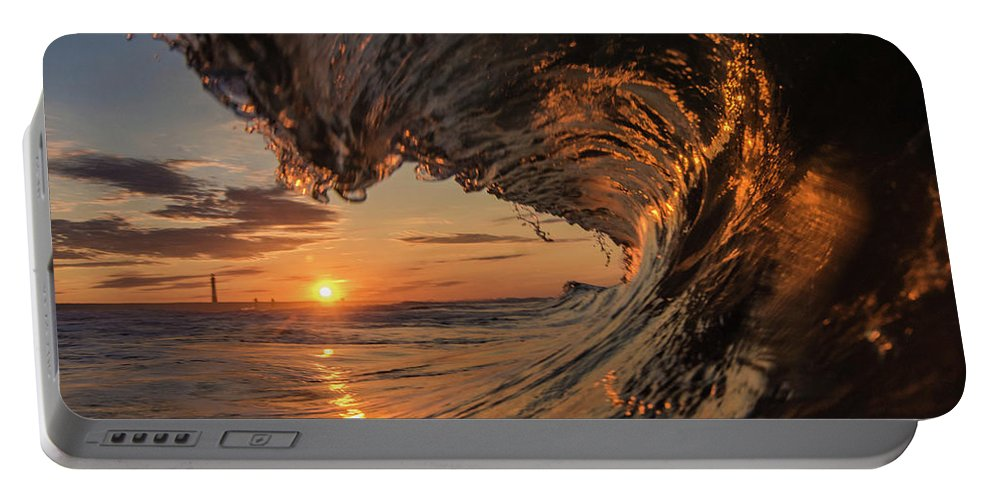 Portable Battery Charger featuring the photograph Morning Sunrise by Ronnie Walker