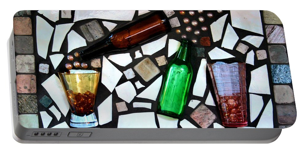 Mosaic Portable Battery Charger featuring the photograph Mosaic by Kristin Elmquist