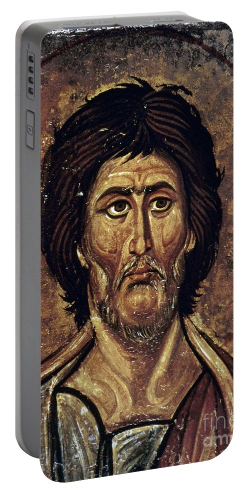 13th Century Portable Battery Charger featuring the photograph Moses by Granger