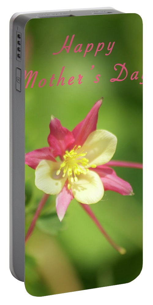 Mother Portable Battery Charger featuring the photograph Mothers Day Card 5 by Michael Peychich