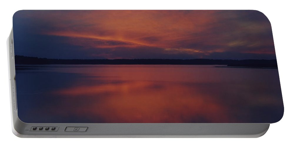 Photographs Portable Battery Charger featuring the photograph Mottled Sky by Phill Doherty