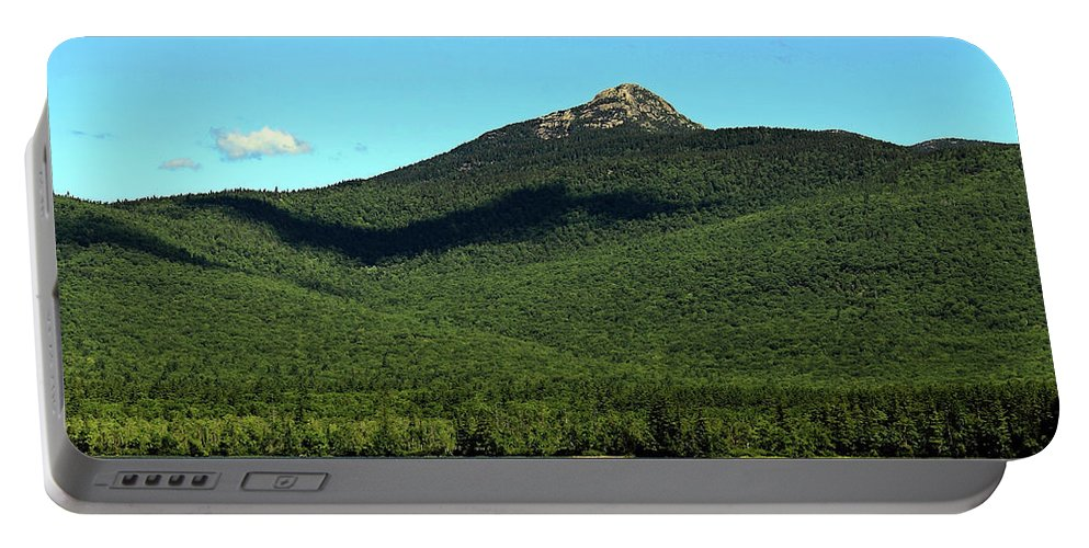Mount Chocorua Portable Battery Charger featuring the photograph Mount Chocorua by Jeff Heimlich