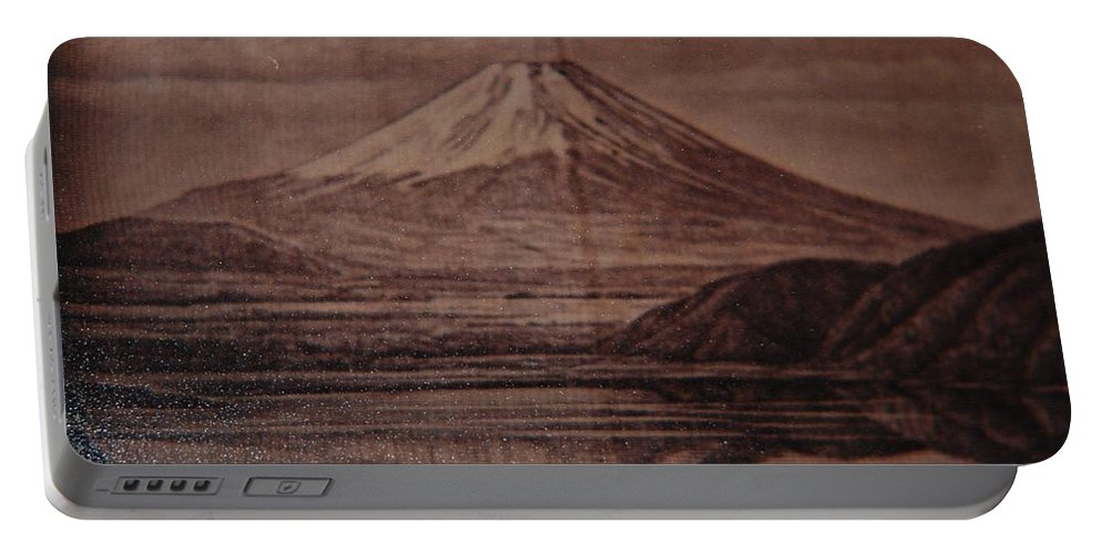 Mount Fuji Portable Battery Charger featuring the photograph Mount Fuji by Rob Hans
