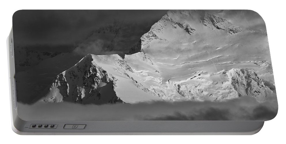 Alaska Portable Battery Charger featuring the photograph Mount Mckinley by Max Steinwald