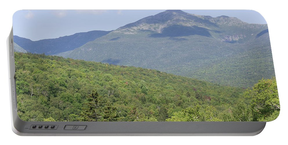 Presidential Portable Battery Charger featuring the photograph Mount Washington by Adam Gladstone