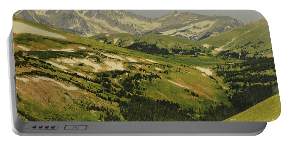 Mountain Country Portable Battery Charger featuring the photograph Mountain Country by Ruth Housley