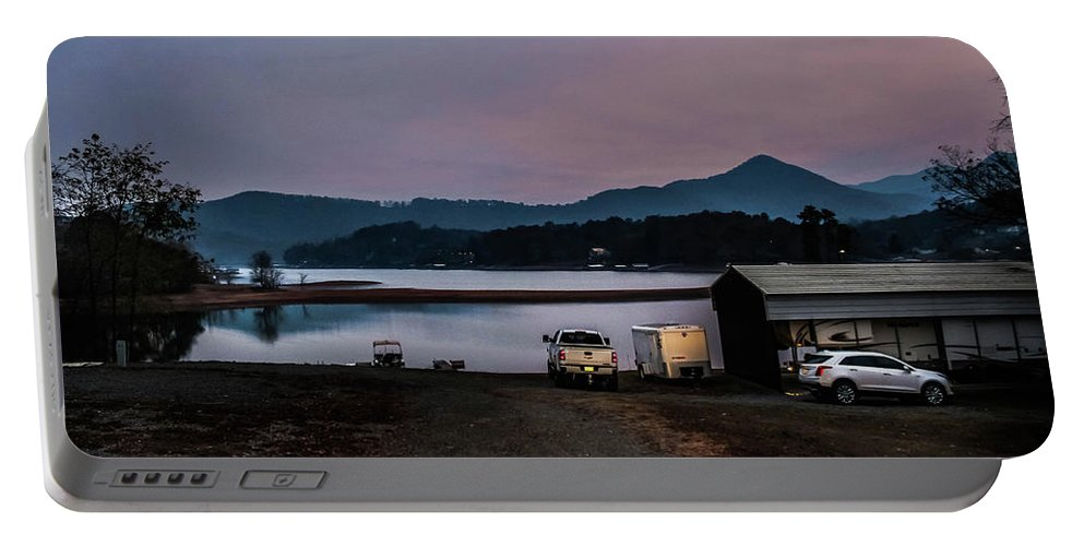 Mountains Portable Battery Charger featuring the photograph Mountain Nights by Danielle Porterfield