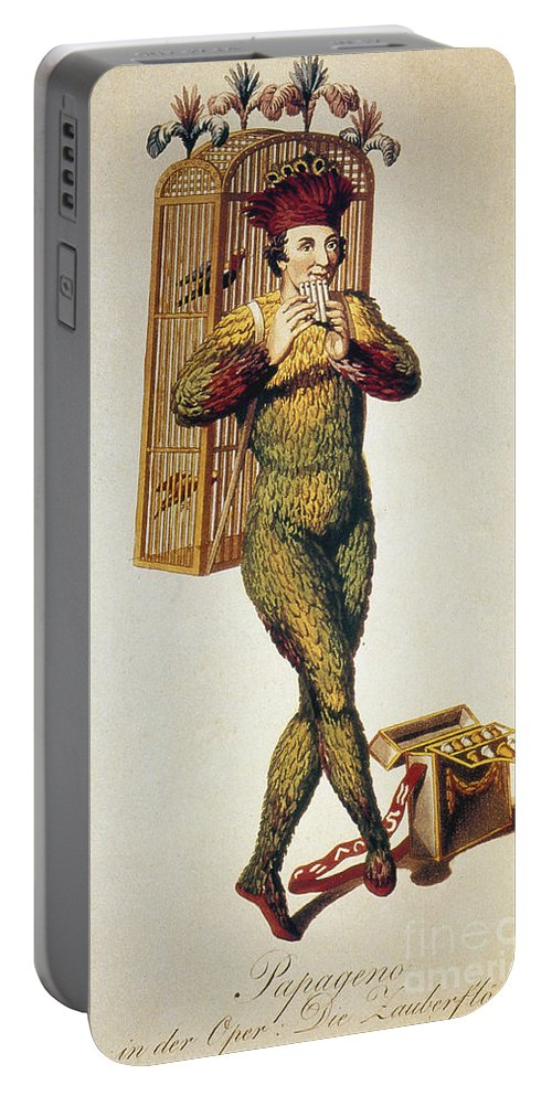 1791 Portable Battery Charger featuring the photograph Mozart: Magic Flute, 1791 by Granger