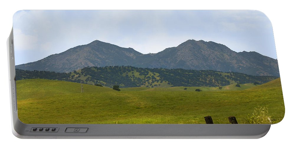 Landscapes Portable Battery Charger featuring the photograph Mt. Diablo Mcr2 by Karen W Meyer