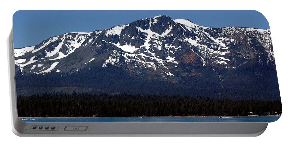 Usa Portable Battery Charger featuring the photograph Mt Tallac by LeeAnn McLaneGoetz McLaneGoetzStudioLLCcom