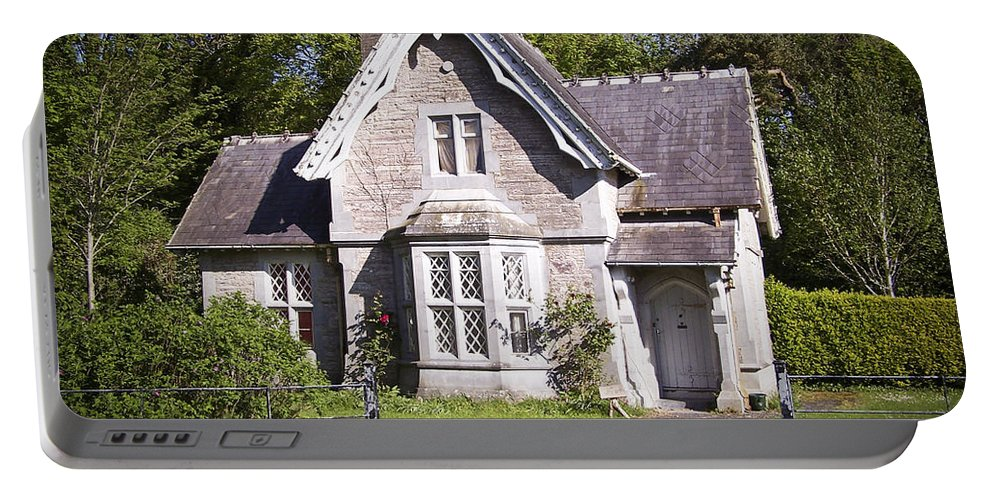 Irish Portable Battery Charger featuring the photograph Muckross Cottage Killarney Ireland by Teresa Mucha