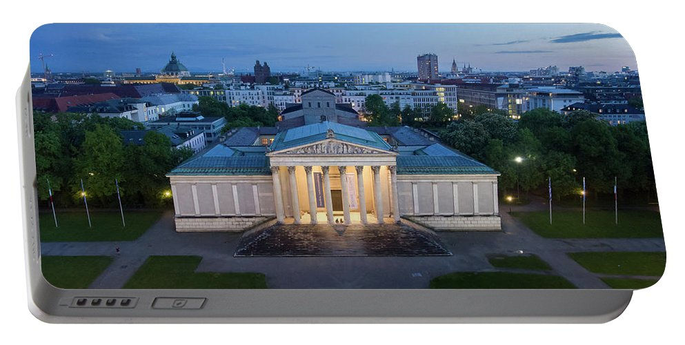 Dji Portable Battery Charger featuring the photograph Munich Koenigsplatz Impressions by Hannes Cmarits