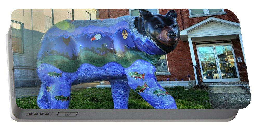 Murphy Portable Battery Charger featuring the photograph Murphy Bear by FineArtRoyal Joshua Mimbs