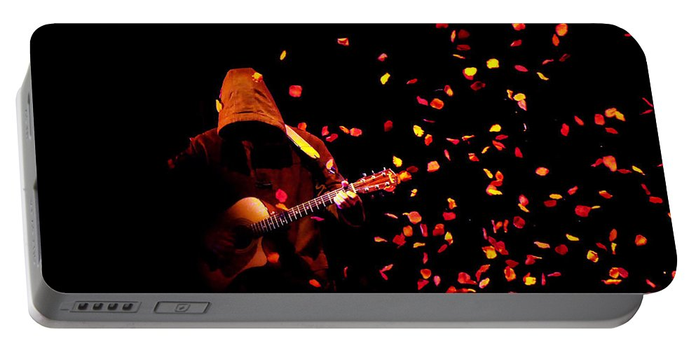 Clay Portable Battery Charger featuring the photograph Musical Appirition by Clayton Bruster