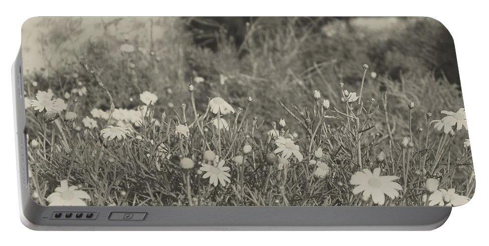 Nature Portable Battery Charger featuring the photograph Muted Beauty 4 by Sarah Jane Thompson
