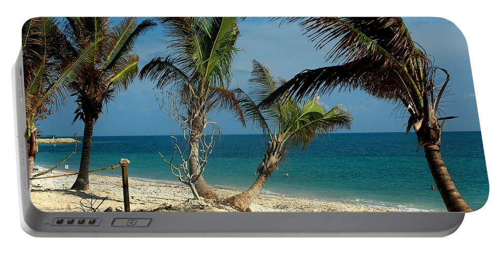 Photography Portable Battery Charger featuring the photograph My Favorite Beach by Susanne Van Hulst