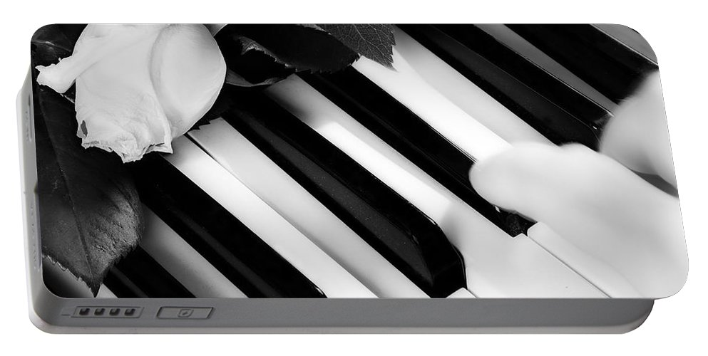Piano Portable Battery Charger featuring the photograph My Piano by James BO Insogna