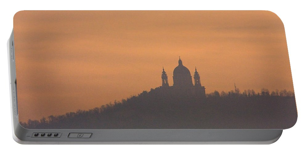 Superga Portable Battery Charger featuring the photograph Mystic Dawn by Riccardo Forte