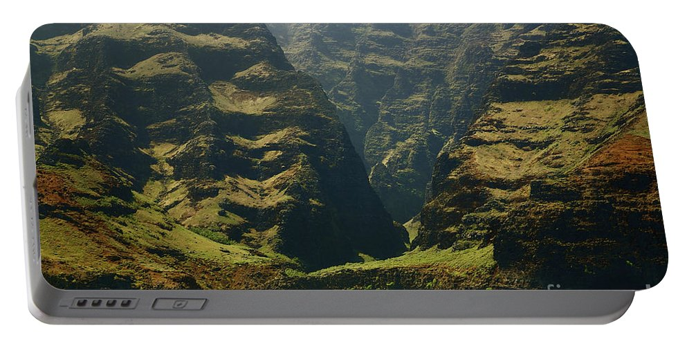 Beautiful Portable Battery Charger featuring the photograph Na Pali 1 by Kicka Witte - Printscapes