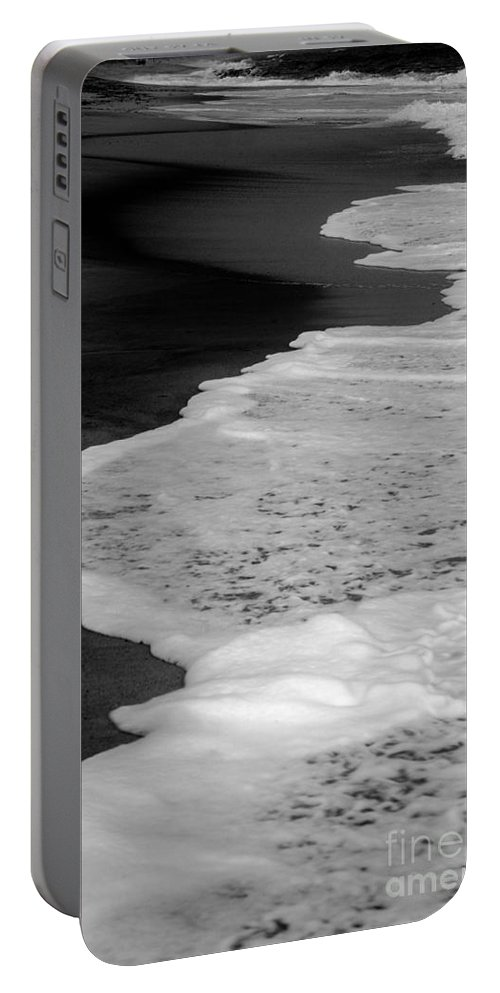 Seashore Portable Battery Charger featuring the photograph Nantucket Shores by Amanda Sinco