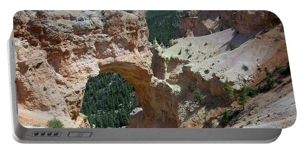 Bryce Canyon Portable Battery Charger featuring the photograph Natural Arch Bryce Canyon - Utah by Anthony Totah