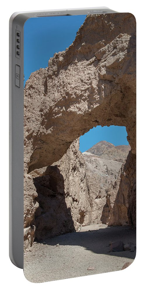 Death Valley Ca Portable Battery Charger featuring the photograph Natural Bridge One Death Valley Ca by Michael Bessler