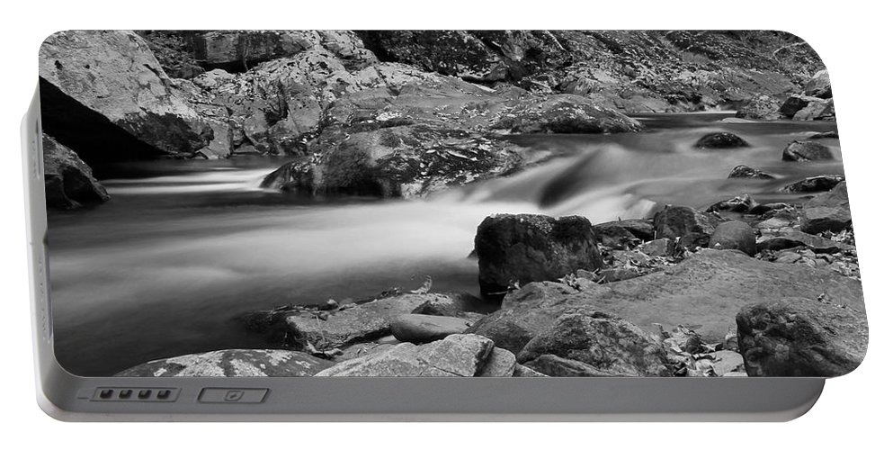 Natural Contrast Black And White Portable Battery Charger featuring the photograph Natural Contrast Black And White by Dan Sproul