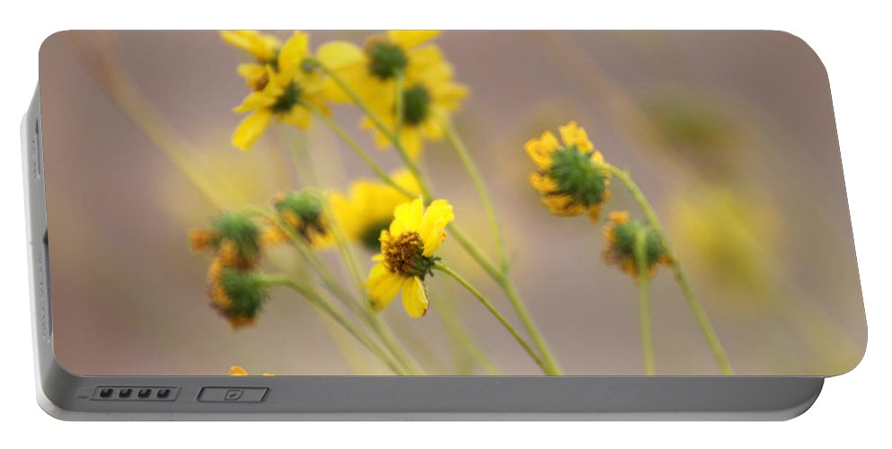 Tarnished Flowers Portable Battery Charger featuring the photograph Natural Flowers by Scott Sawyer